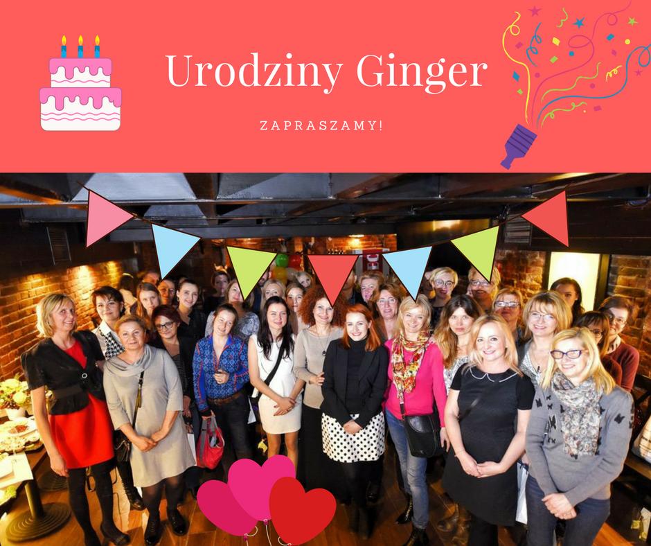 8. urodziny Ginger i Kobiecy Punkt Widzenia!