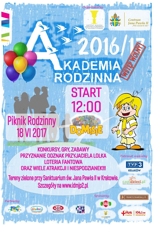 Akademia Rodzinna - Piknik Rodzinny