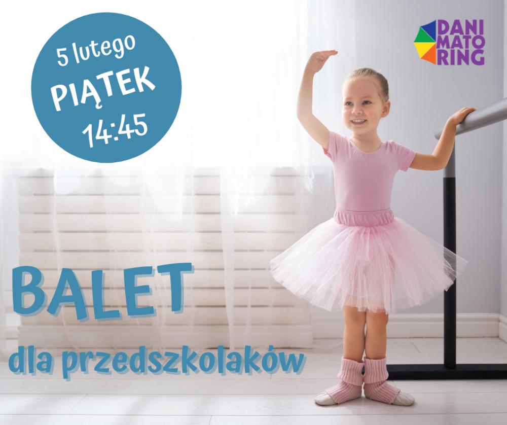 Balet dla przedszkolaków
