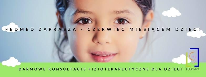 Bezpłatne konsultacje fizjoterapeutyczne dla dzieci