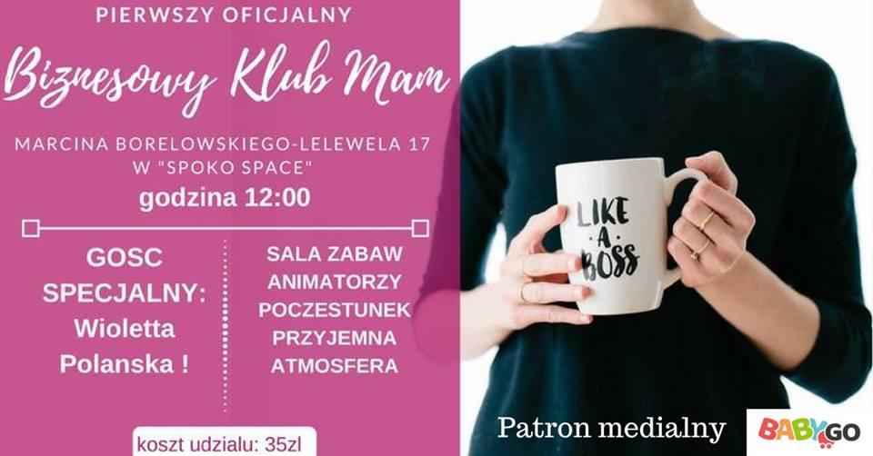 Biznesowy KLUB MAM już w poniedziałek