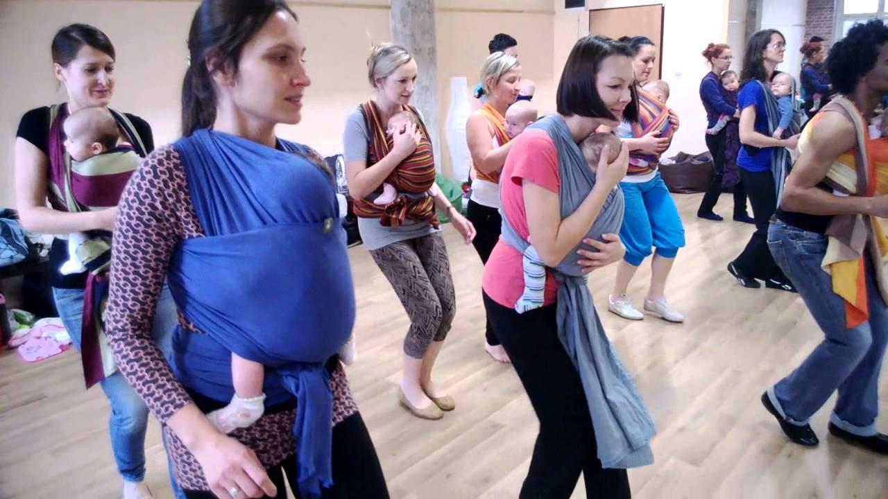 Dance Mix: tańce dla mam z dziećmi w chustach