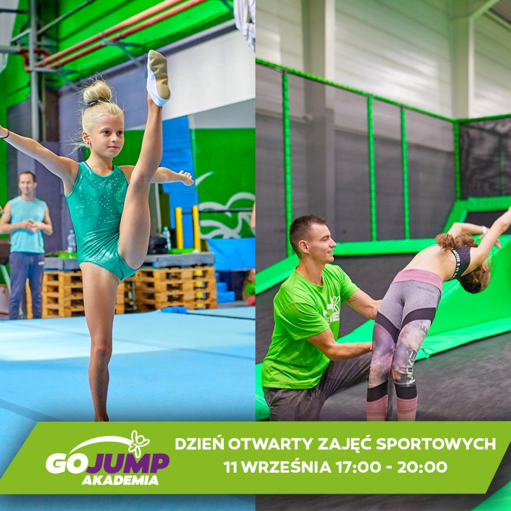 Dzień Otwarty zajęć sportowych w GOjump MEGApark Sikorki!