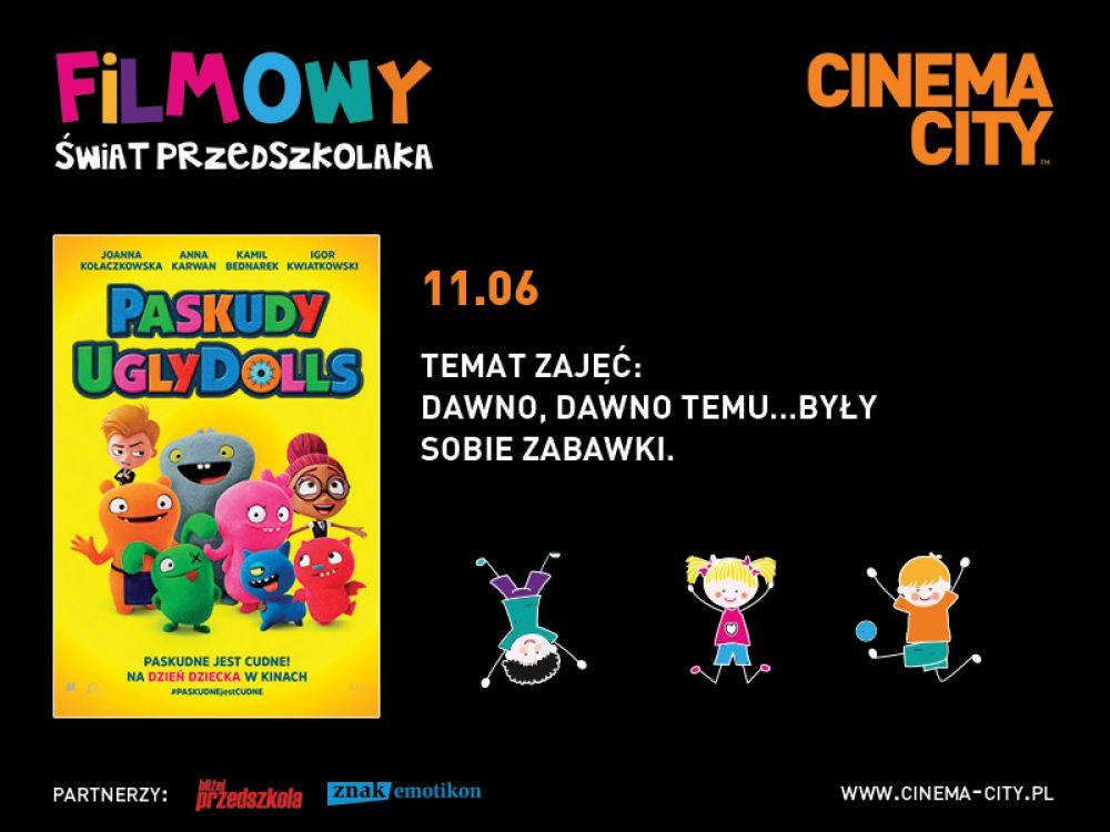 Dzieje zabawek, czyli ostatnie przed wakacjami spotkanie z cyklu Filmowy Świat Przedszkolaka w Cinema City!