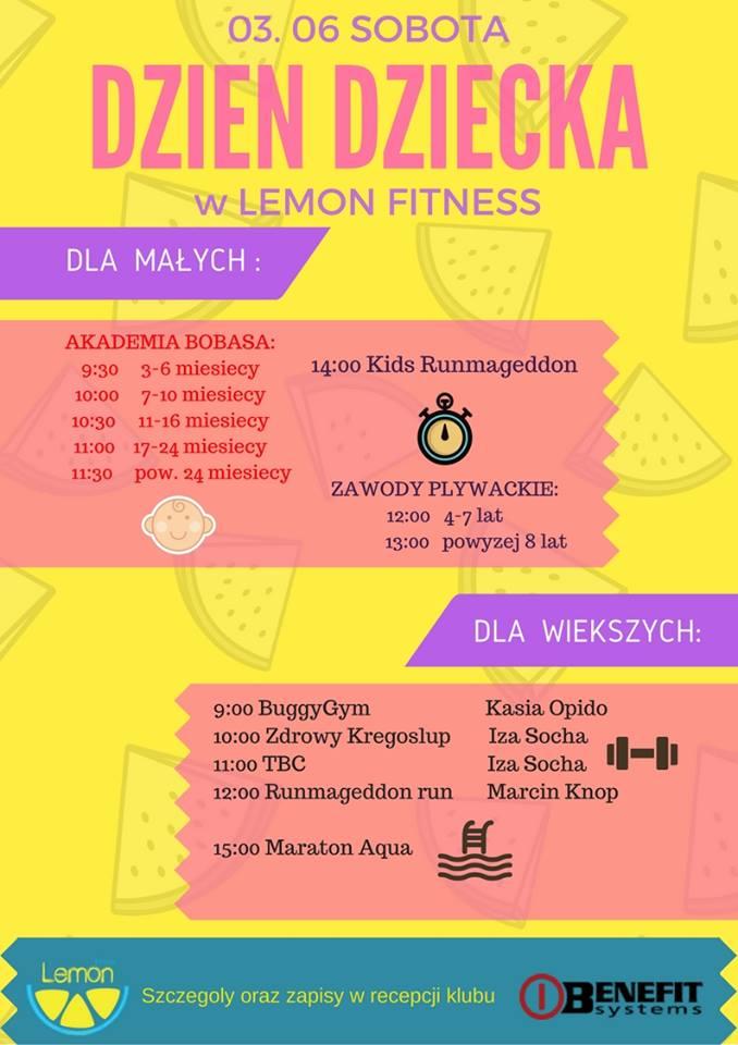 Dzień Dziecka w Lemon Fitness