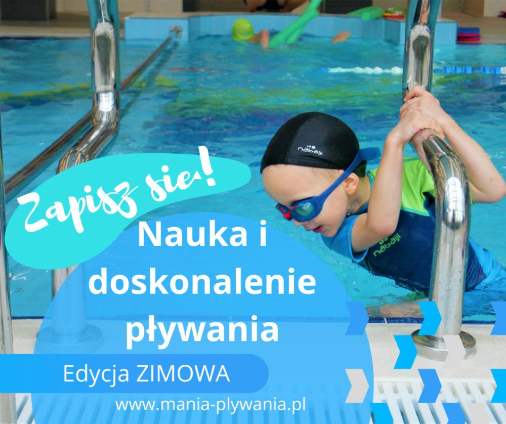 Zajęcia NAUKI PŁYWANIA - Edycja ZIMOWA