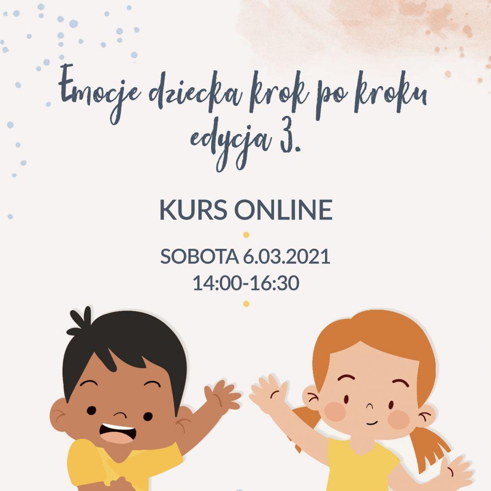 Emocje dziecka krok po kroku – kurs webinarowy