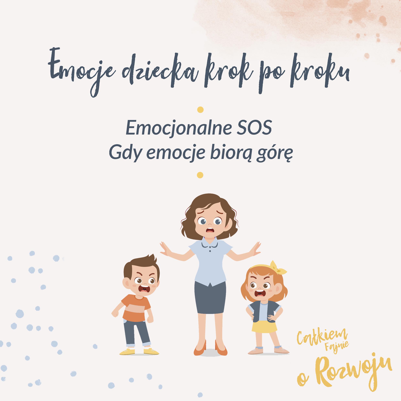 Emocjonalne SOS – gdy emocje biorą górę - kurs online