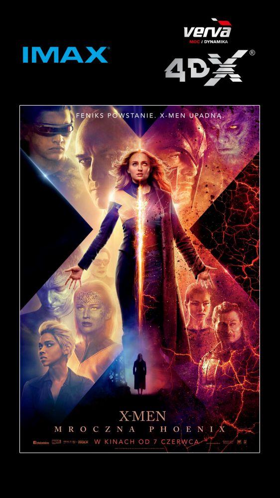 Feniks powstaje, czyli X-Men: Mroczna Phoenix w Cinema City  IMAX® i 4DX®!  J