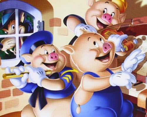 Fiesta dla dzieci: Trzy świnki
