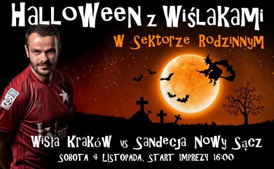 Halloween z Wiślakami (Wisła Kraków - Sandecja Nowy Sącz)