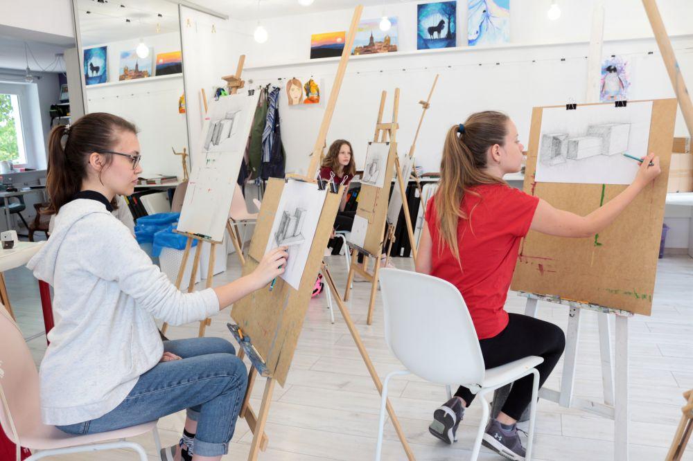 Jak ważny jest rozwój kreatywności wśród dzieci? - Kursy malarstwa online