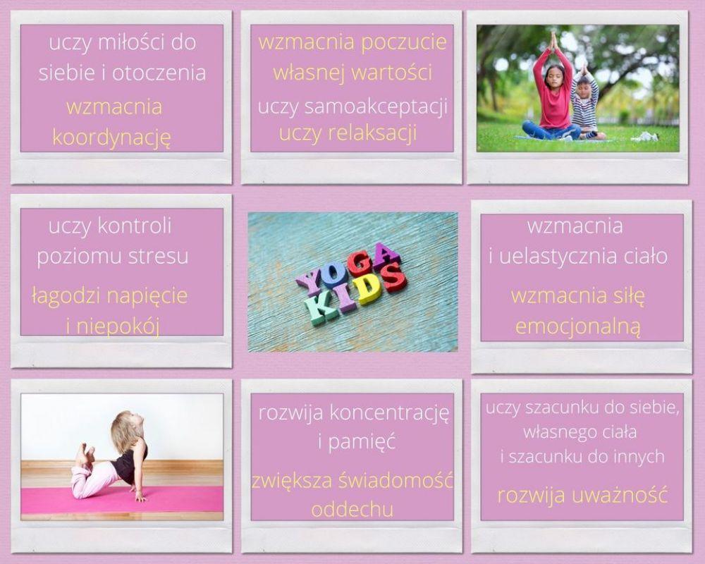 Joga online dla dzieci