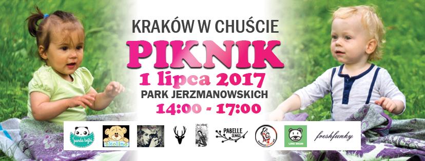 Kraków w chuście! - piknik Krakowskiej Biblioteki Chustowej