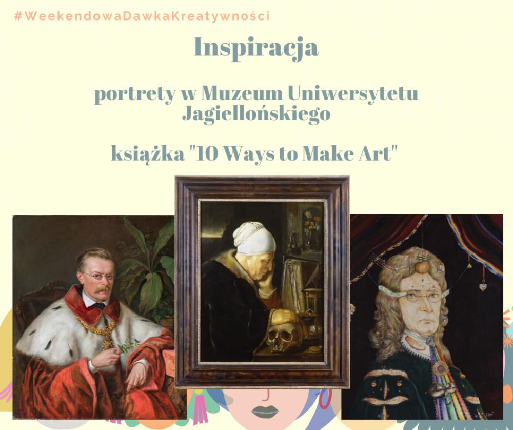 Kreatywnie z Muzeum Uniwersytetu Jagiellońskiego - Portret