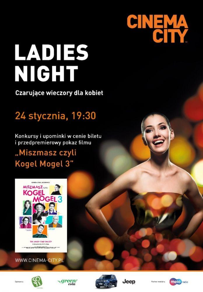 Ladies Night w Cinema City powracają w Nowym Roku!