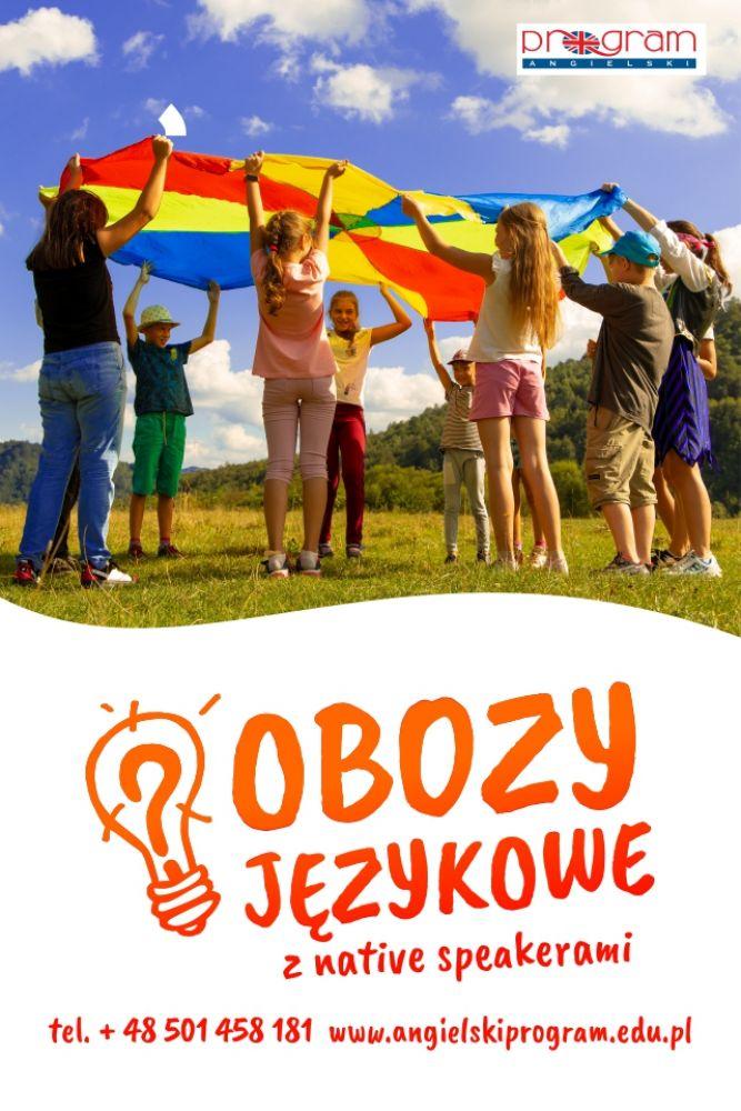 Letnie obozy językowe 2021 w Polsce z native speakerami!