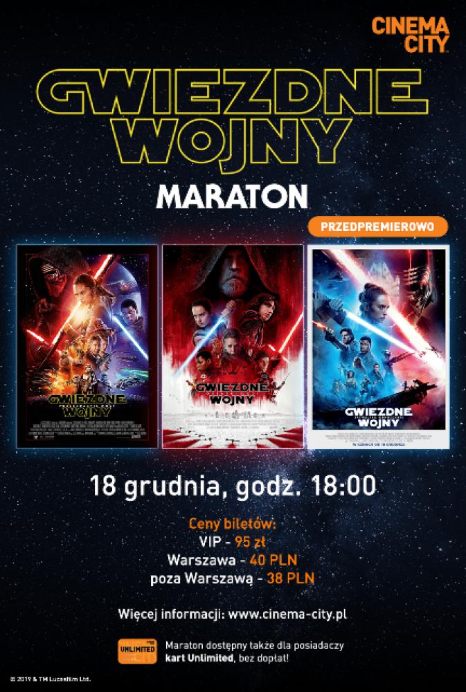 Maraton Gwiezdnych Wojen w Cinema City!