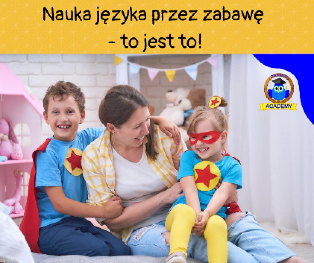 Nauka języka angielskiego przez zabawę i to bez wychodzenia z domu!