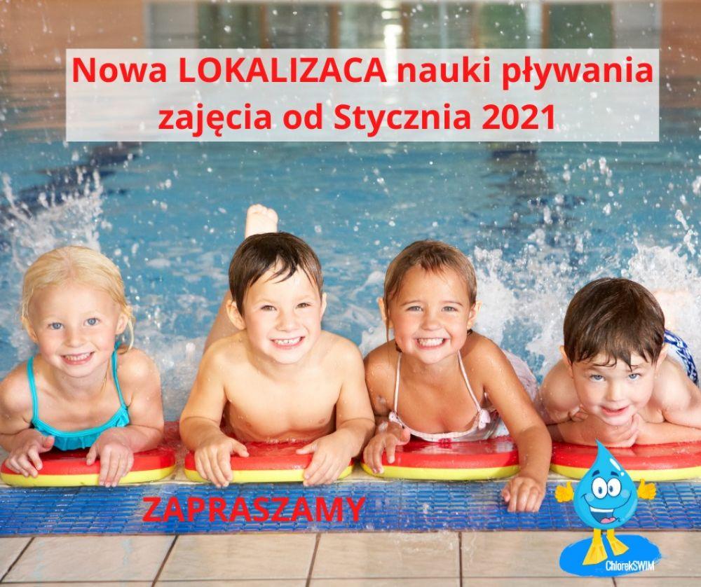 Nowa lokalizacja na naukę pływania w ChlorekSwim!