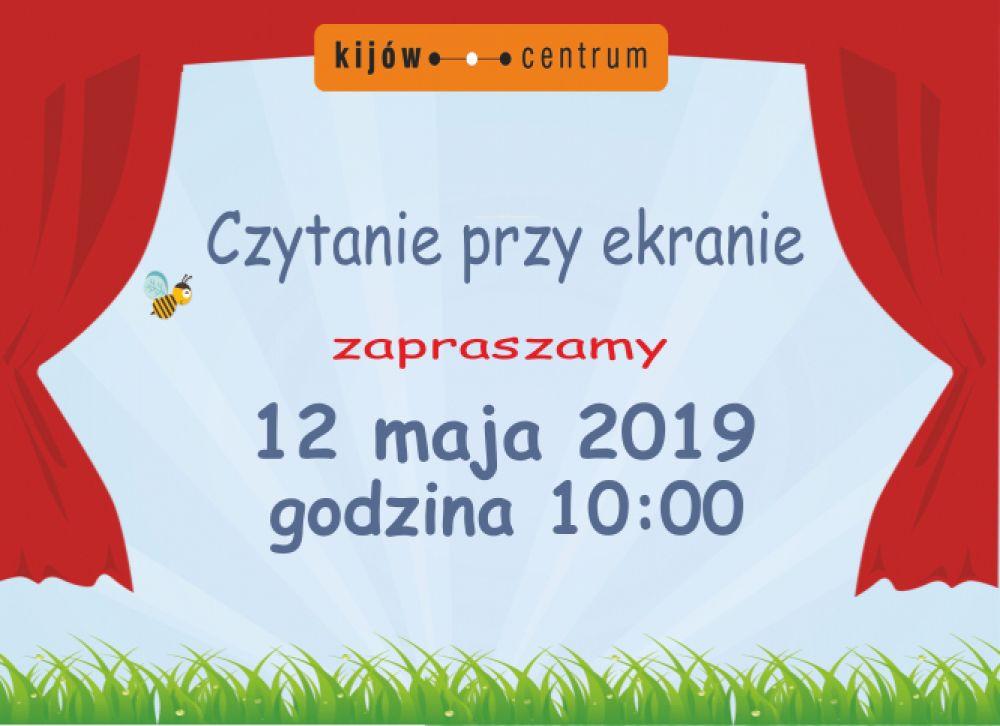 CZYTANIE PRZY EKRANIE w kinie Kijów.Centrum w Krakowie