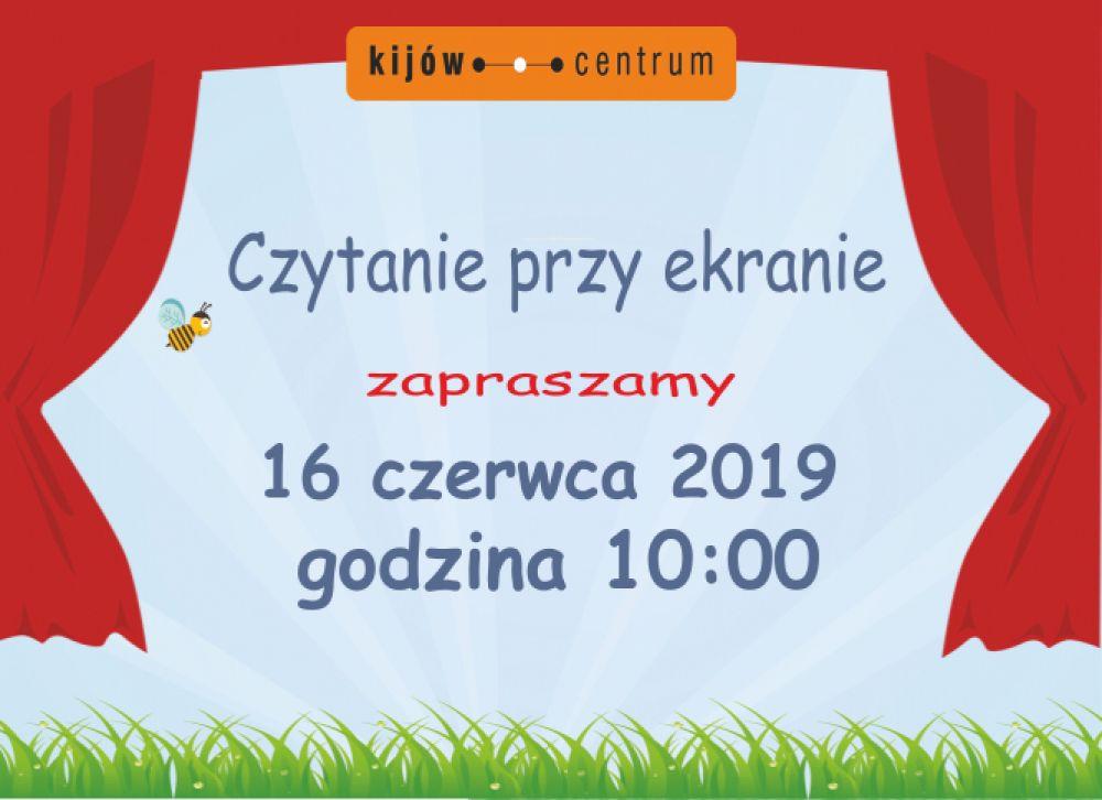 CZYTANIE PRZY EKRANIE w kinie Kijów w Krakowie