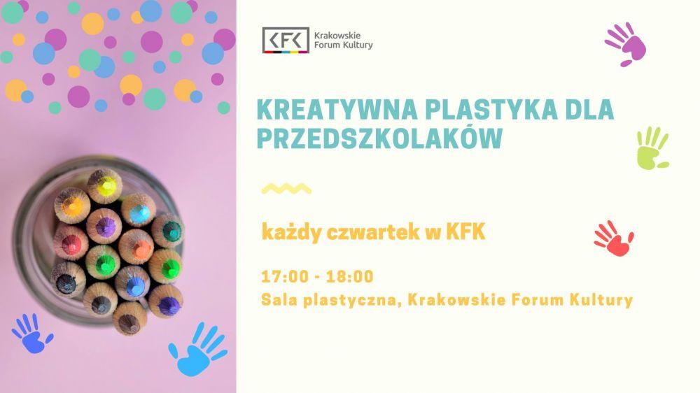 Kreatywna plastyka dla przedszkolaków w KFK!
