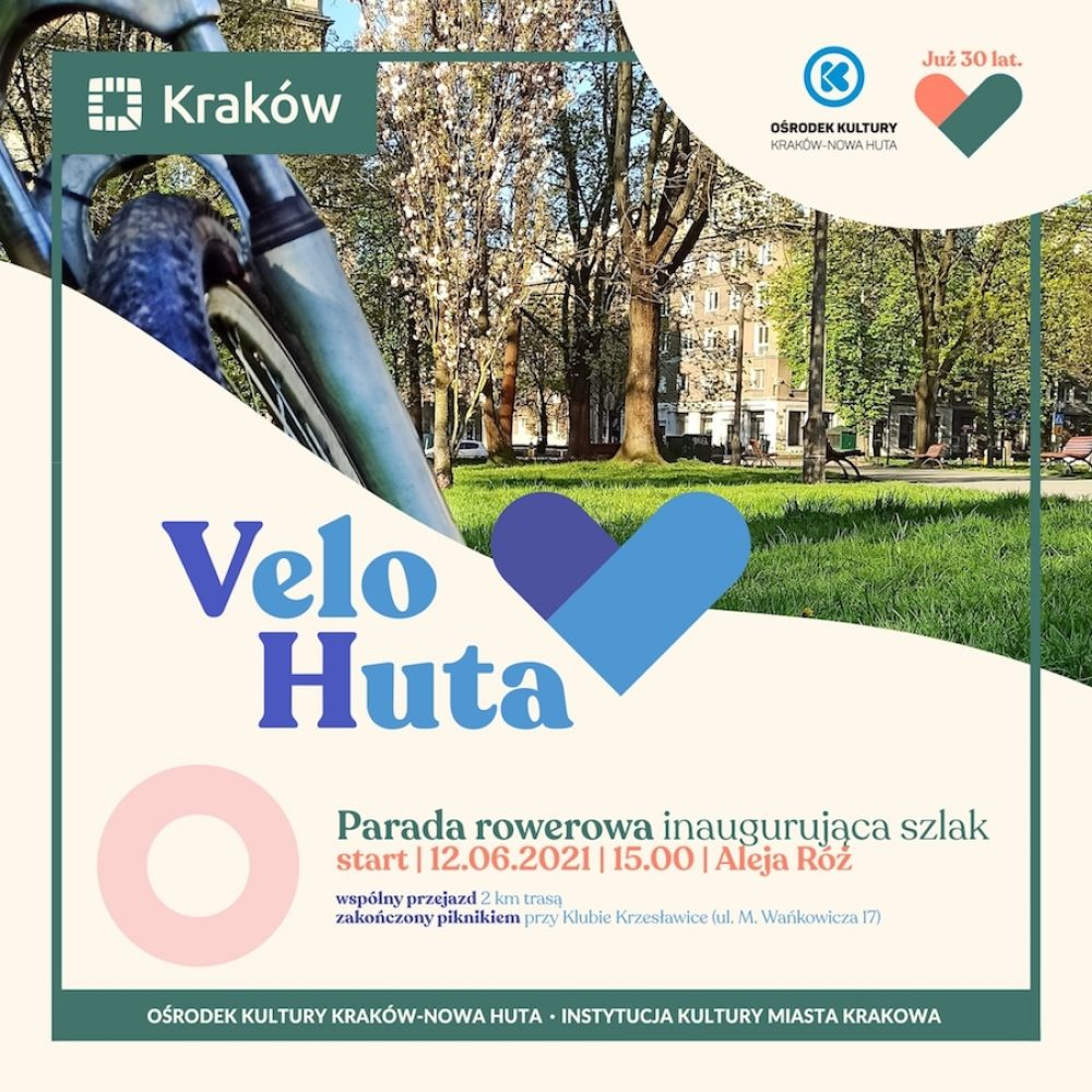 Velo Huta start! - parada i piknik