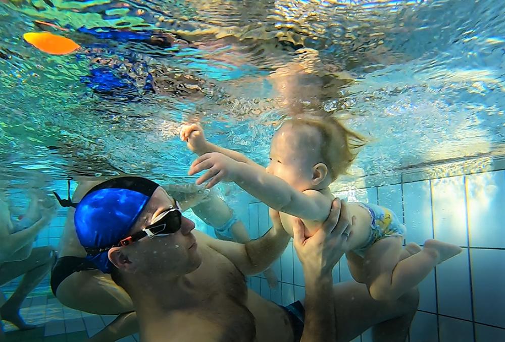 Zajęcia pływania dla dzieci i niemowląt