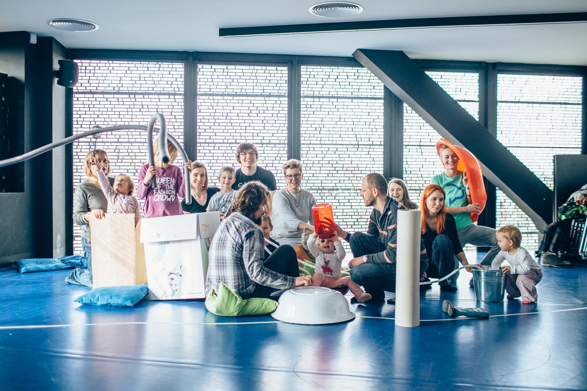 Pomysły, przedmioty i ruch, czyli warsztaty dla juniorów