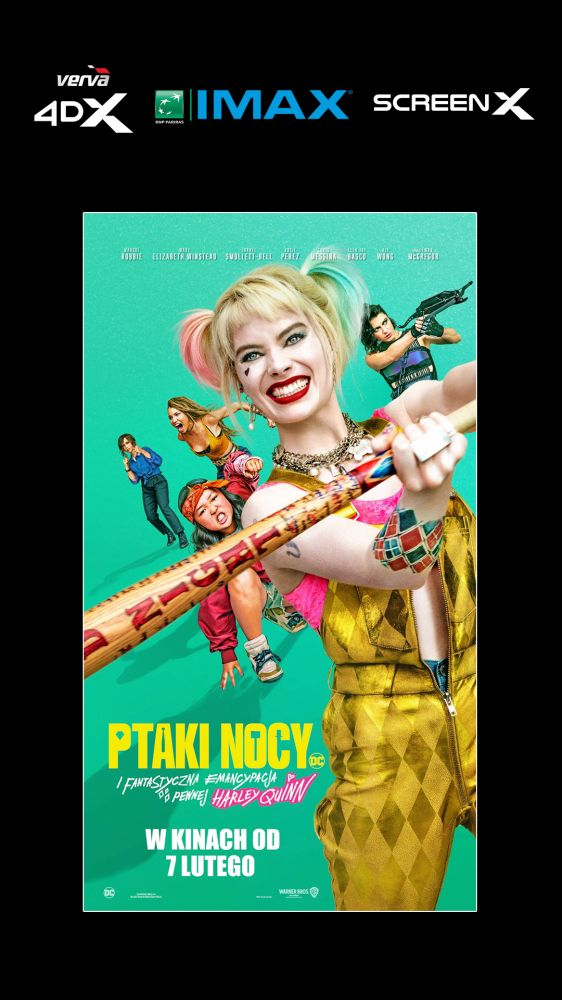 Powrót Harley Quinn na ekrany kin!- już od 7 lutego!