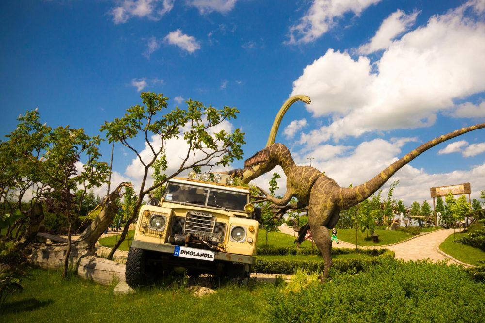 Prehistoryczny konkurs!!! Bilety do Parku Dinozaurów i Rozrywki Dinolandia