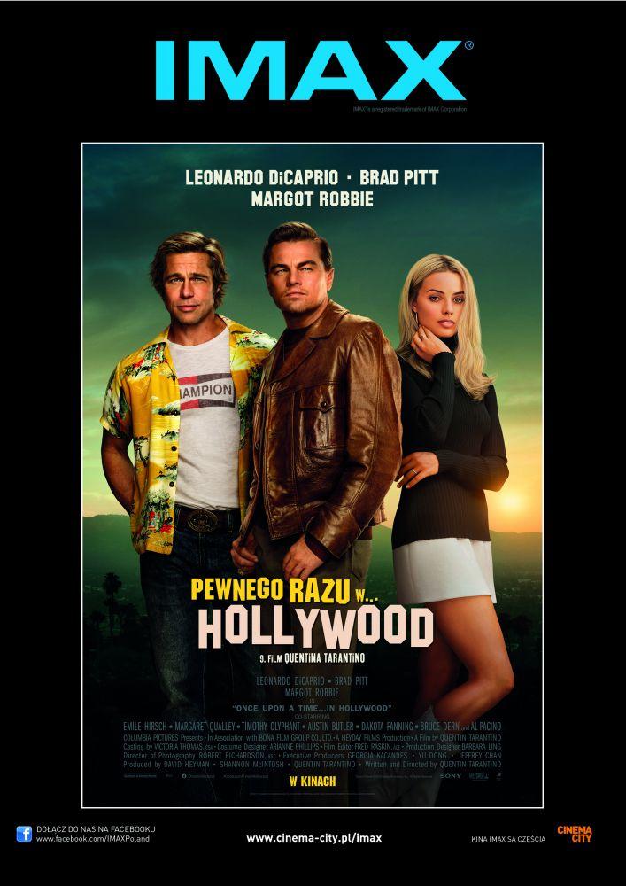 """Premiera najnowszego filmu Quentina Tarantino  """"Pewnego razu w… Hollywood"""" w Cinema City!"""