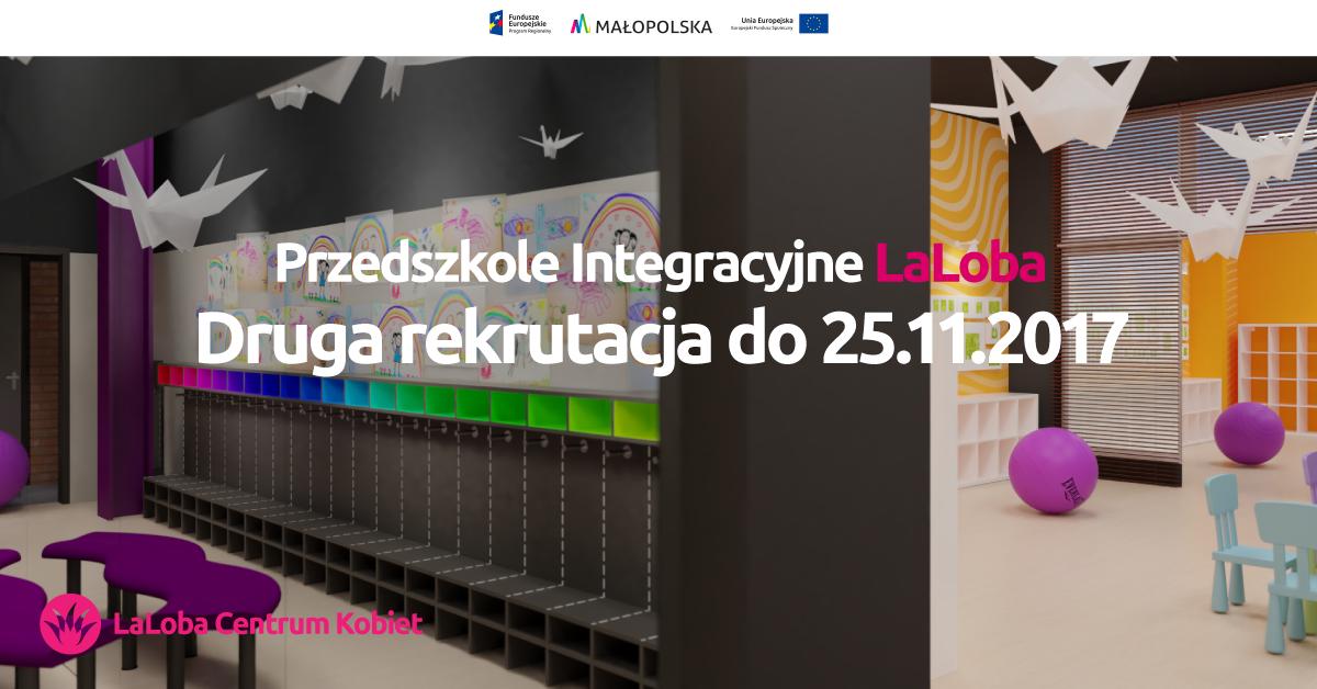 Rekrutacja do nowego przedszkola integracyjnego w Krakowie