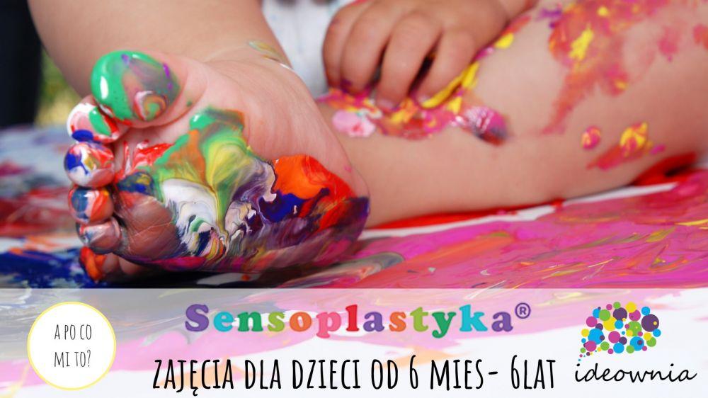 Sensoplastyka zajęcia dla dzieci od 6 mc do 6 lat