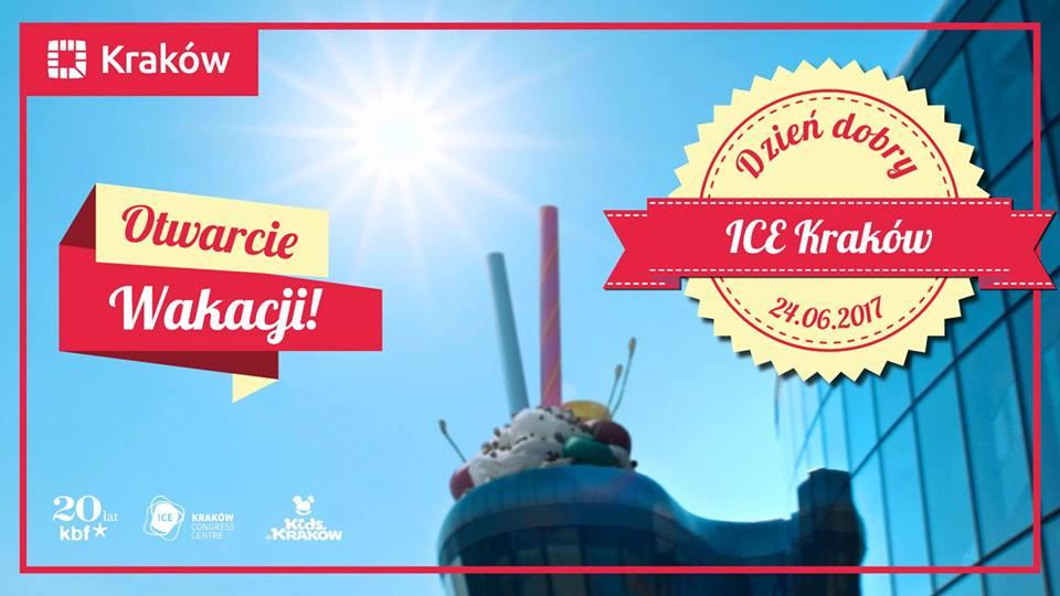 Słoneczne Dzień dobry ICE Kraków - otwarcie wakacji!