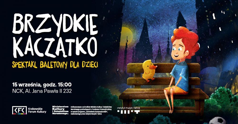Brzydkie Kaczątko - spektakl baletowy dla dzieci