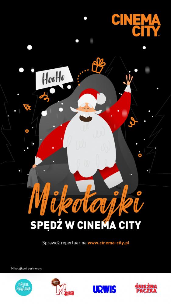 Spotkaj Świętego Mikołaja w kinie!