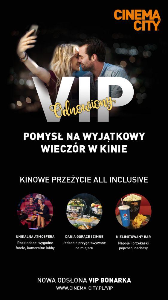 Strefa VIP w Cinema City Bonarka w nowej odsłonie!
