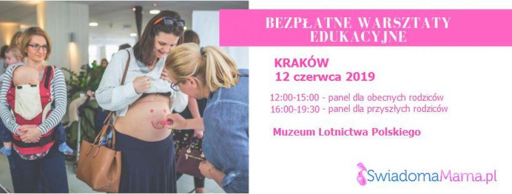 Świadoma Mama w Krakowie- warsztaty edukacyjne