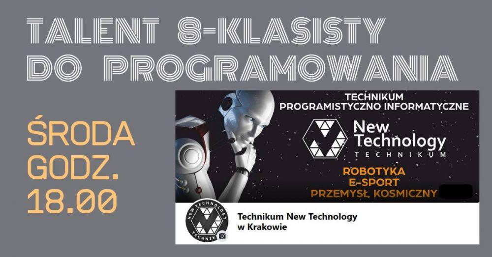 Talent 8-klasisty do programowania