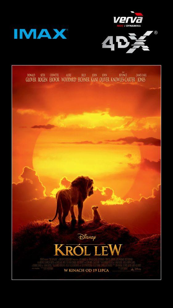 Wielki powrót władcy zwierząt – Król Lew w Cinema City IMAX® i 4DX®!