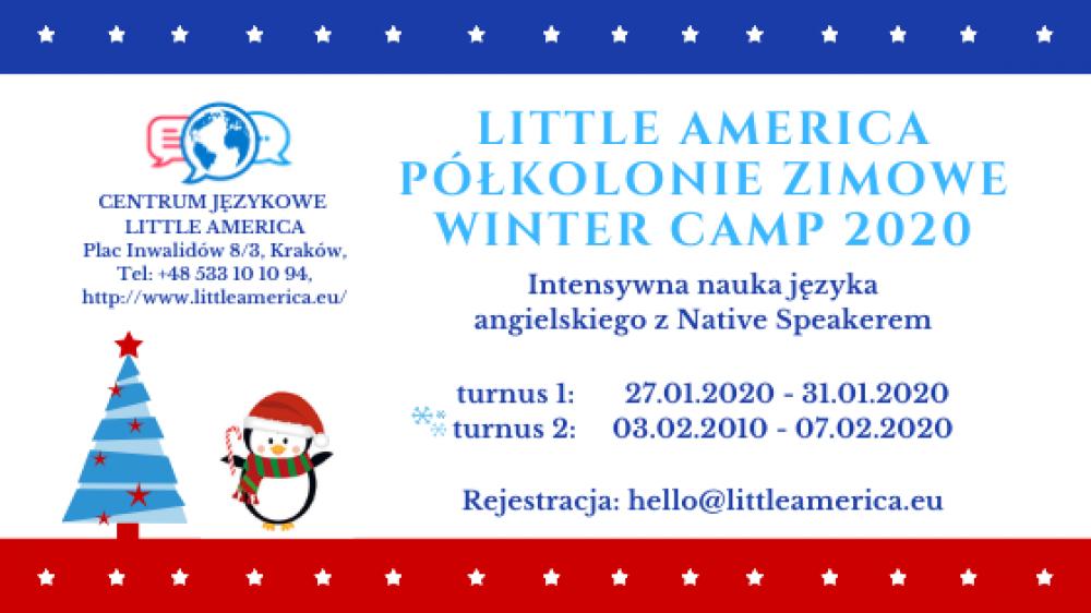 Winter Camp -półkolonie dla dzieci