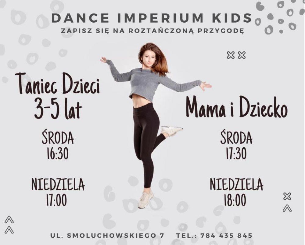 Zajęcia taneczne dla dzieci oraz mam z dziećmi