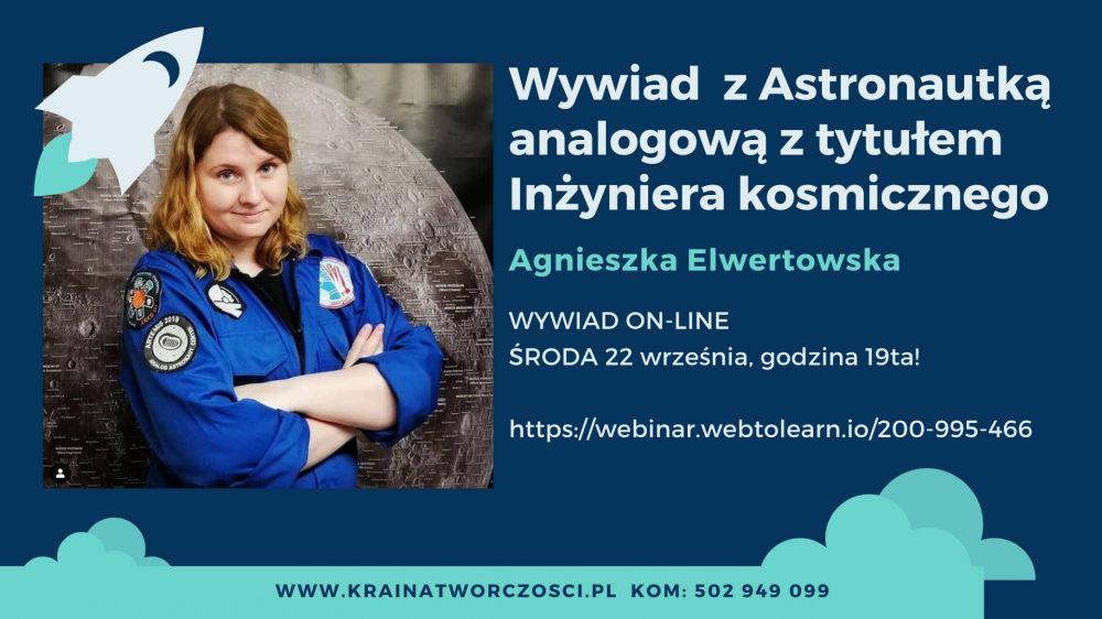 Zapytaj Astronautkę analogową z tytułem Inżyniera kosmicznego!