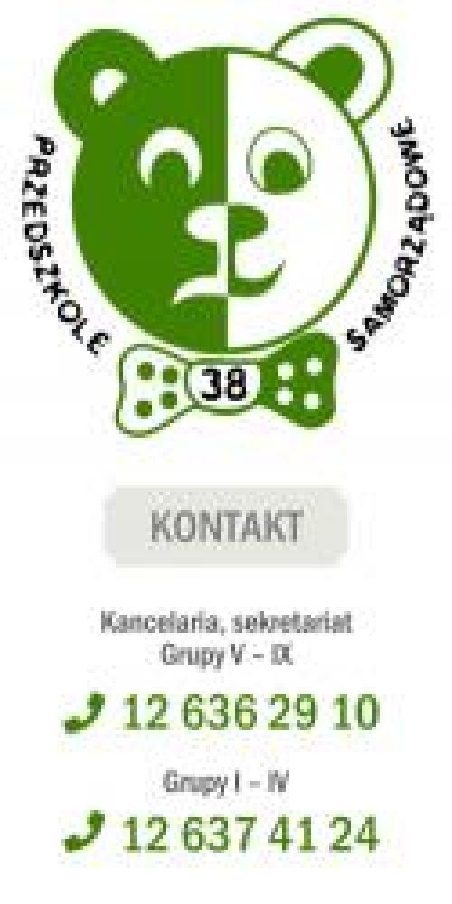 Samorządowe Przedszkole nr 38 Akademia Zielonego Misia