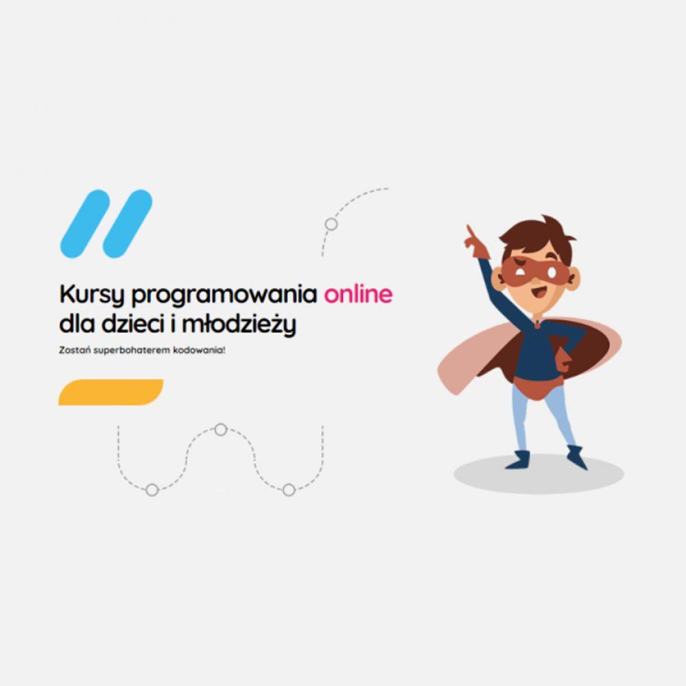 Kursy programowania online dla dzieci i młodzieży.
