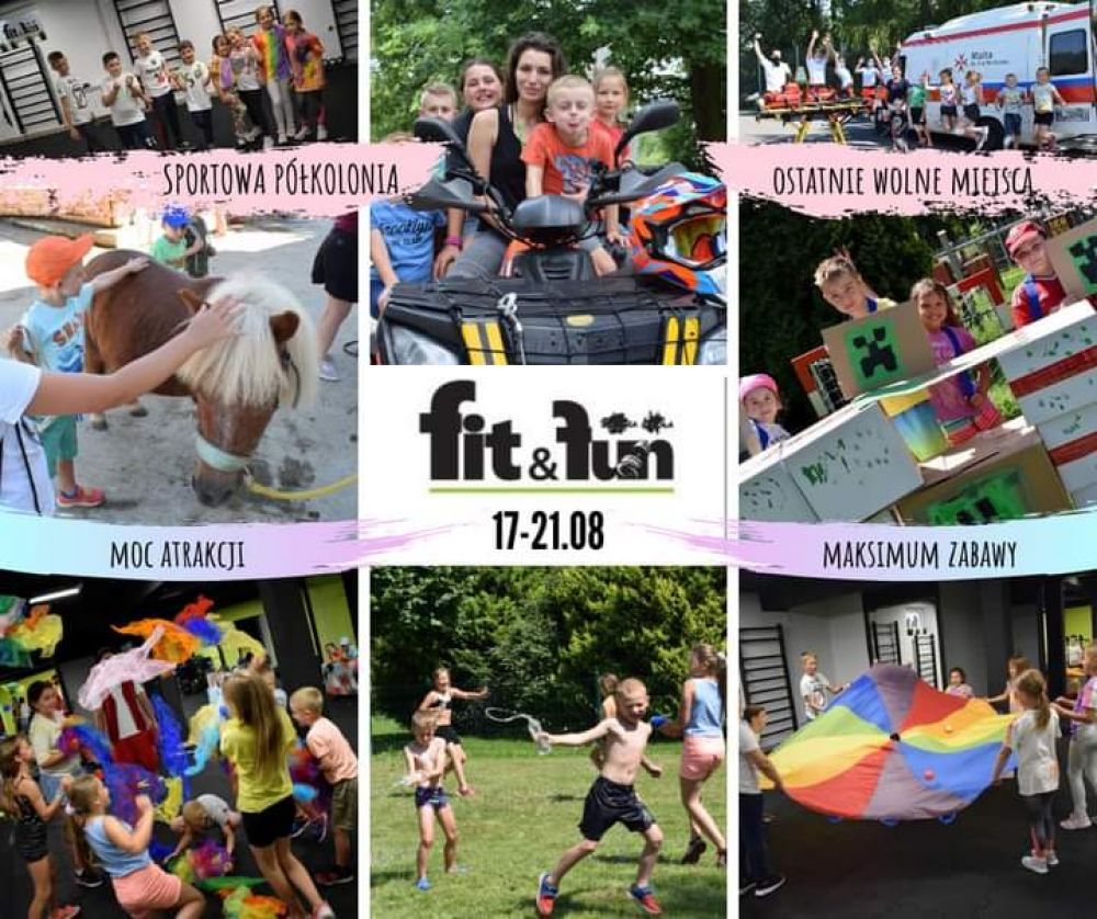 Sportowa Pólkolonia Fit&Fun