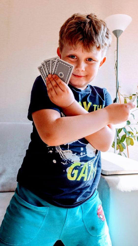 Karty Grabowskiego -  Tabliczka mnożenia dla dzieci