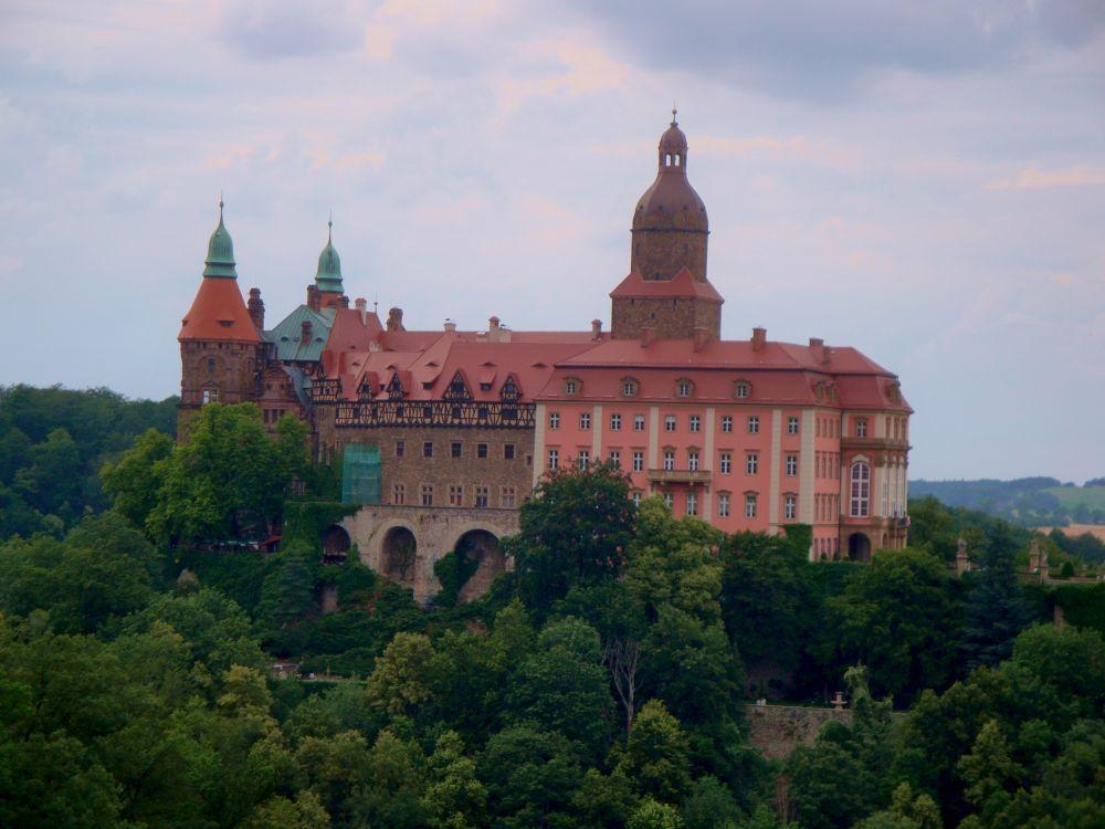 Zamek Książ - wycieczka z dzieckiem